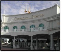 The Entrance to Churchill Downs