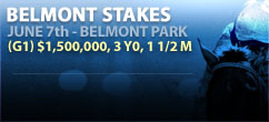 Belmont Stakes - Bet Now!